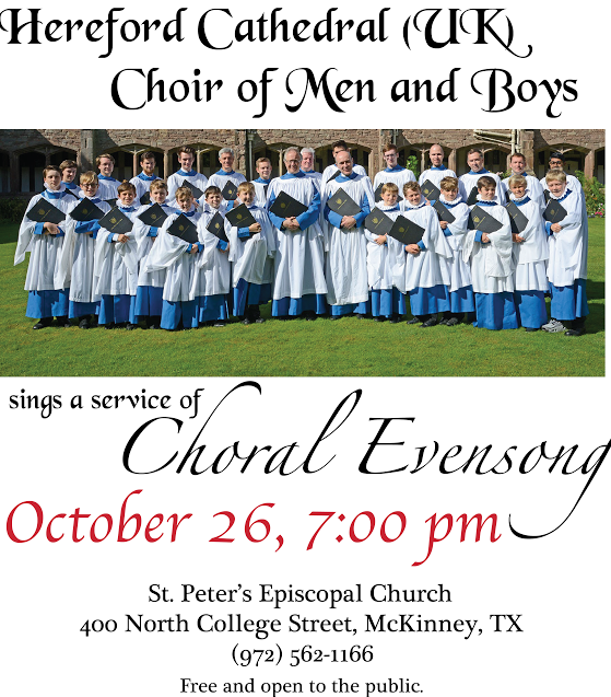 Hereford Cathedral Choir of Men and Boys Event