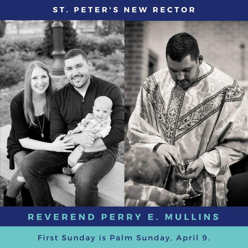 New Rector Rev. Perry E. Mullins